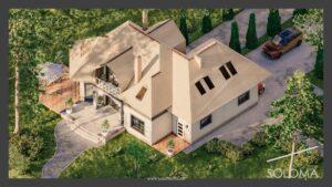 soloma.house Каркасные Дома цена за строительство 2021 Украина
